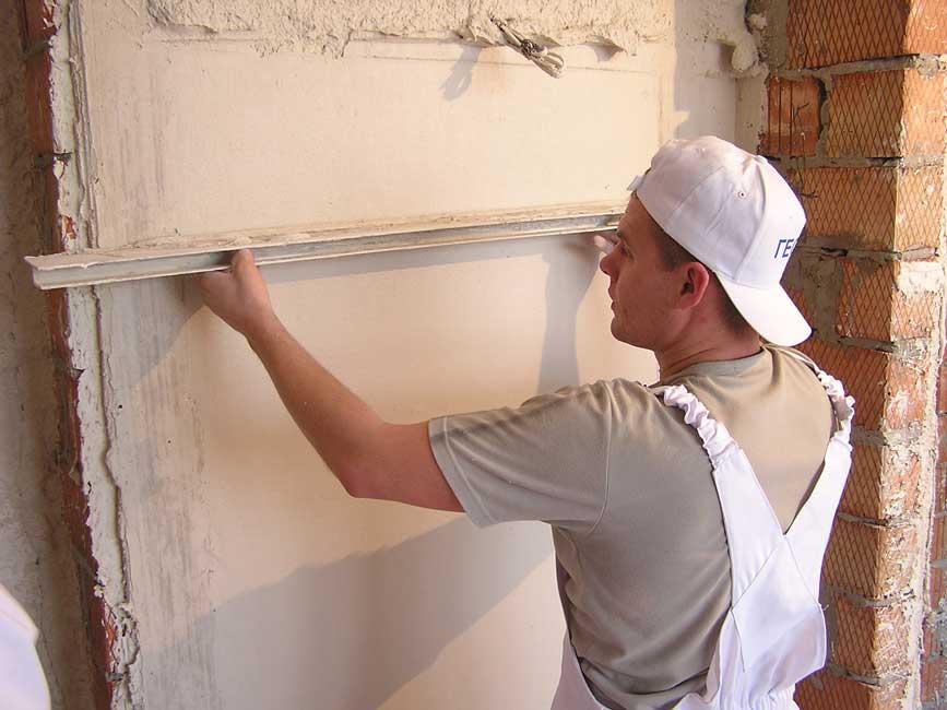 Штукатурка стен должна выполняться специалистом